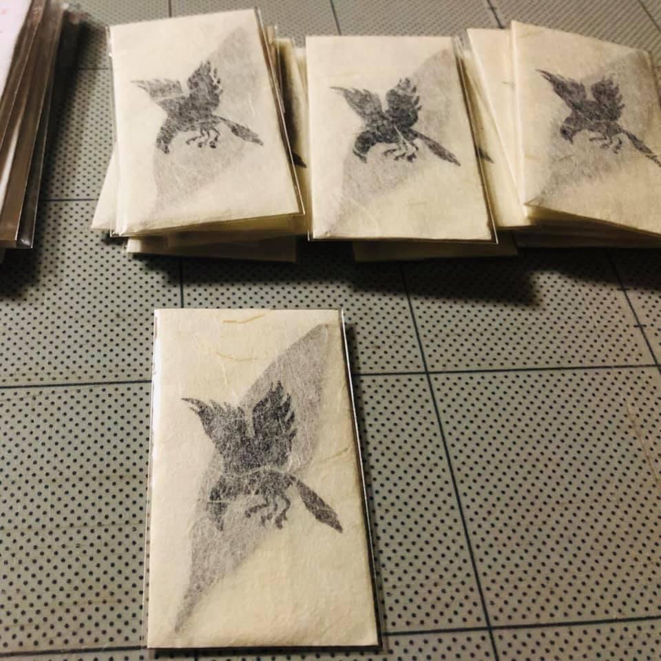 熊野和紙体験工房おとなし限定コラボ梛の押葉